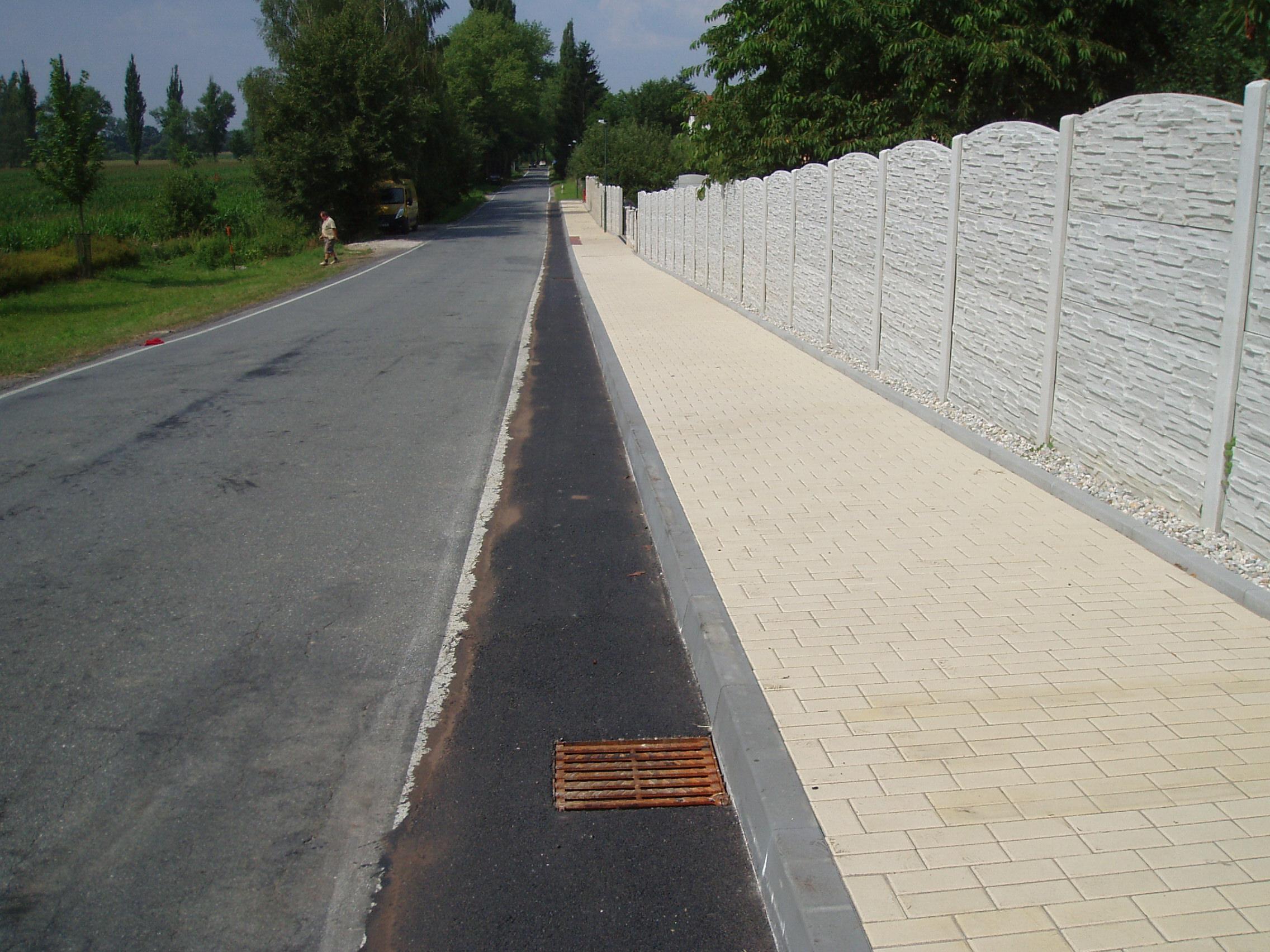 Chodníky Vidov - V. Etapa
